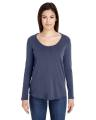 American Apparel Ladies' Long-Sleeve Ultra Wash T-Shirt