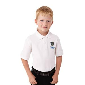 Belmont Short Sleeve Polo (youth, decorated)
