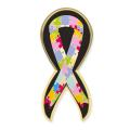 "Express Lapel Pin (1.25""x 1.5"" Awareness Ribbon)"